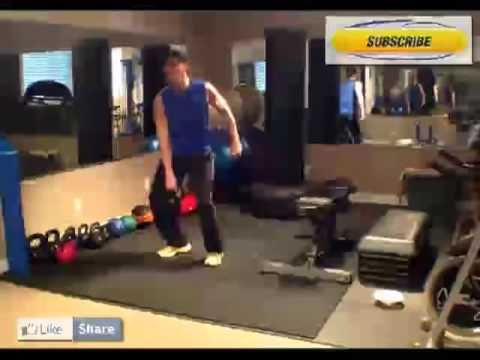 Calgary Personal Trainer KettleBell Upright Row Tutorial. KB Upright Row...