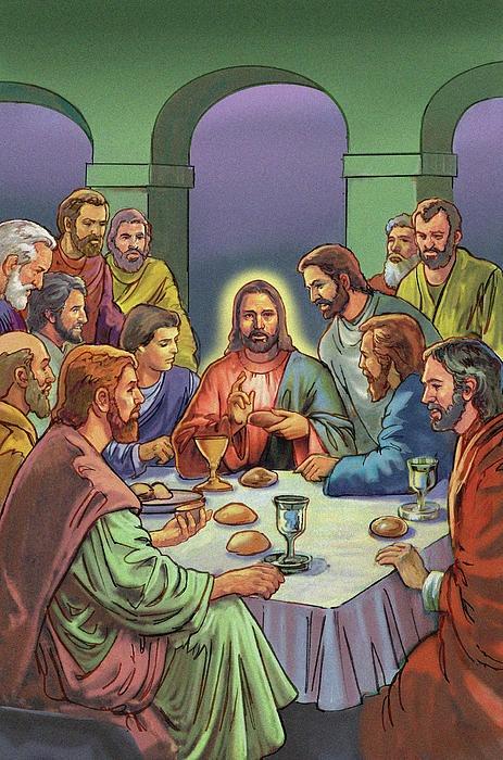 ultima cena 2   Imagens católicas, Imagens religiosas, A ultima ceia
