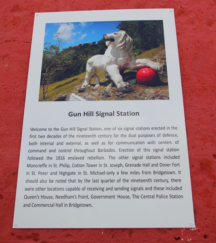 Gun Hill Signal Station & Lion: One of our favourite stops for amazing island views and a step back in time.