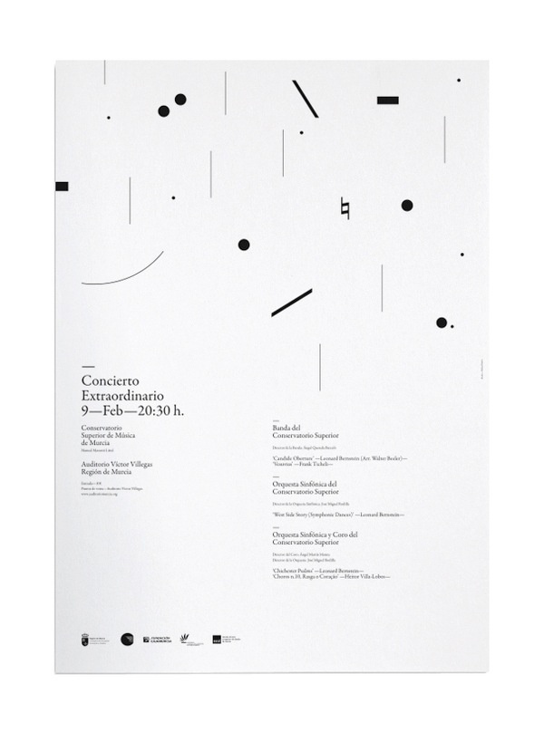 Poster monochrome design - Illustrates any topic, I think would suit supporting the brief which states to create an identity for the portable show