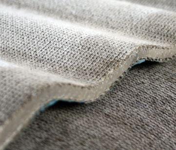 Concrete Cloth - flexible cement impregnated fabric on hydration hardens to form a thin durable water proof and fire proof concrete layer - remains workable for 2 hours and hardens to 80% within 24 hours