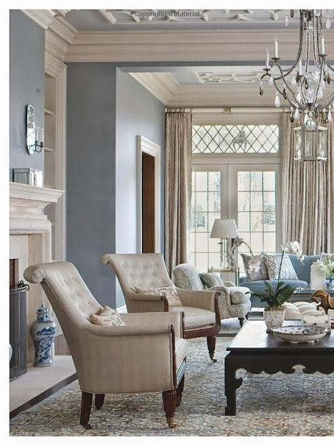 99 Beautiful White And Grey Living Room Interior: 25+ Best Ideas About Blue Gray Walls On Pinterest