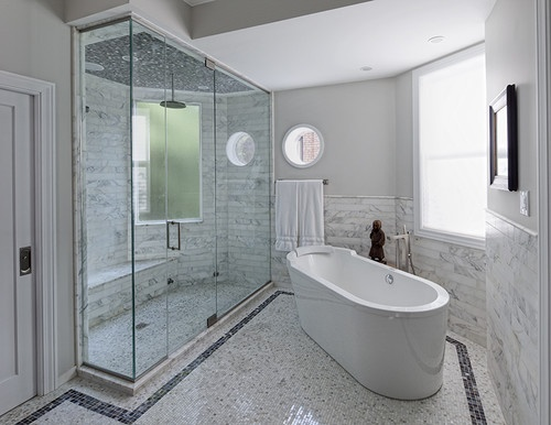 Lincoln Park Residence - contemporary - bathroom - chicago - SPACE Architects + Planners