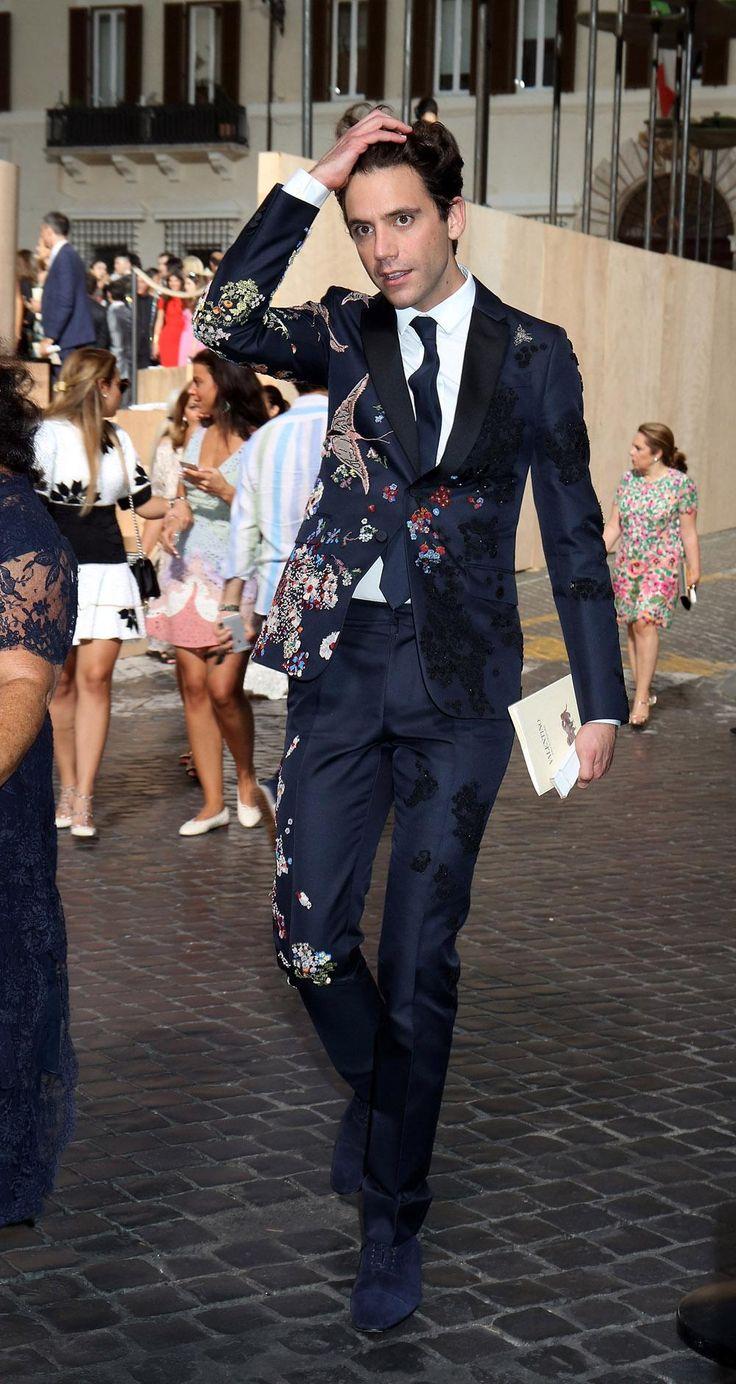 Mika At Valentino Show