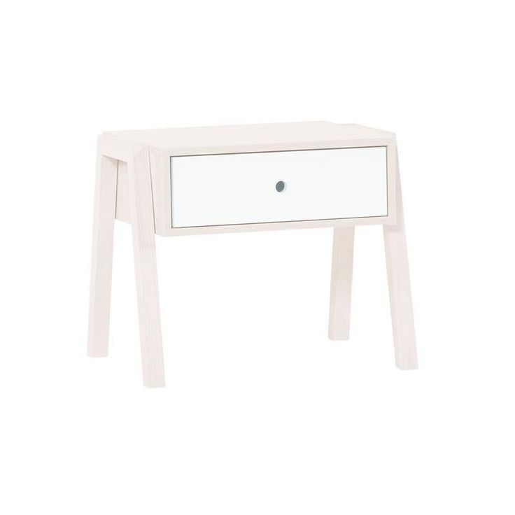 Voelkel Spot Collection Wood Stacking Stool with Drawer
