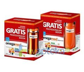 Produkt Omegamed® Odporność syrop w saszetkach, 30 szt.  Preparat opracowany w celu wzmocnienia odporności dzieci powyżej 3. roku życia.