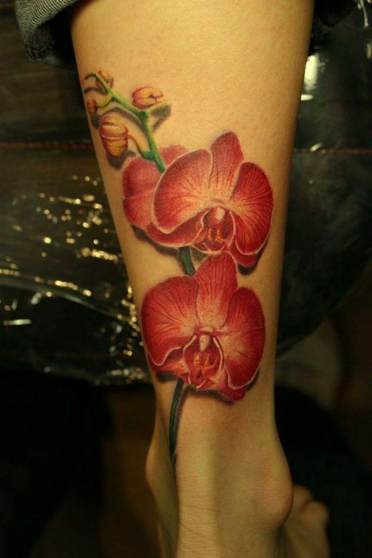 Malvorlagen kirschen pictures to pin on pinterest - Orchideen Tattoo On Leg