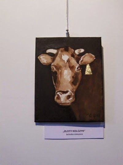 A little about the exhibition of paintings animalistic 2014
