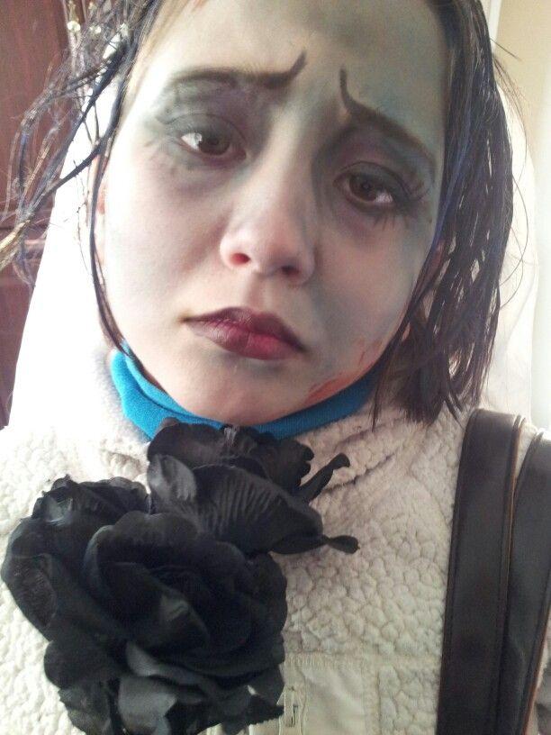 My kiddo as Corpse Bride