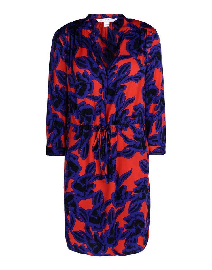 Diane Von Furstenberg Freya Tunic Silk-Blend Dress