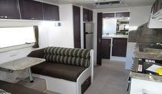 Galaxy Caravan Interior, Australia