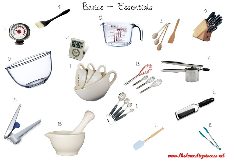 Kitchen Essentials: I Must Remrmber To Invest In At Least One Of Evertyhing  Pictured Here | Essentials Props For Cooking/for Kitchen | Pinterest |  Kitchen ... Part 41