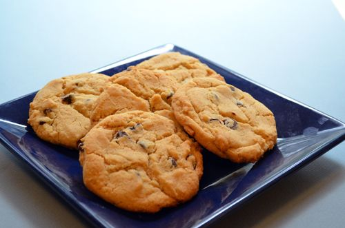 Vegan Chocolate Chip Cookies from Sticky Fingers Sweets