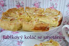 TynaTyna: Jablkový koláč se smetanou