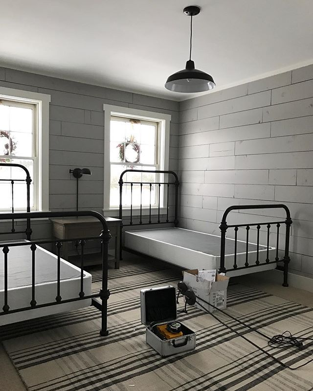 Best 25 gray shiplap ideas on pinterest ship lap accent for Images of rooms with shiplap