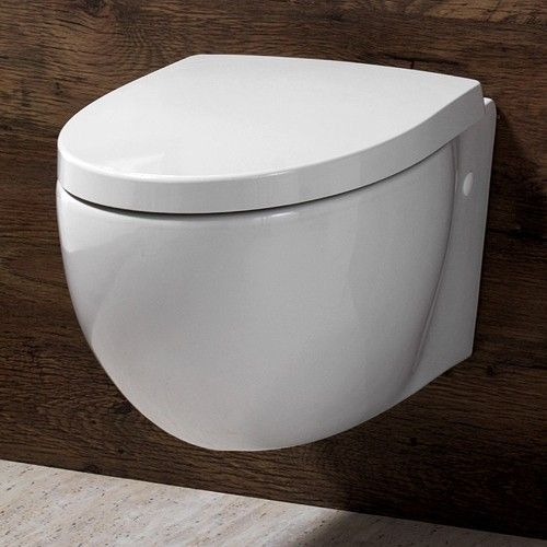 wall mounted toilet.  Seems like such a simple dream and yet.... to never have to scrub around a toilet again!!  bliss!!!!
