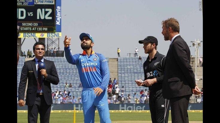India vs New Zealand | 2nd ODI Match | Live Cricket Match Score