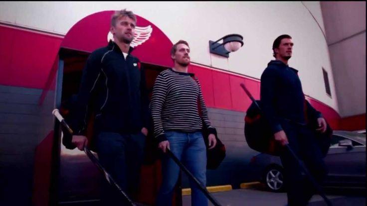Detroit Red Wings Commercial - Joe Louis Arena Street Hockey