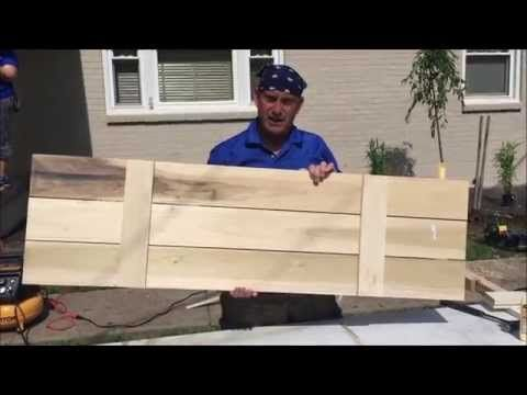 How to Build Board and Batten Shutters - Beneath My Heart