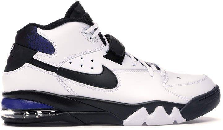 Nike Air Force Max White Black-Cobalt