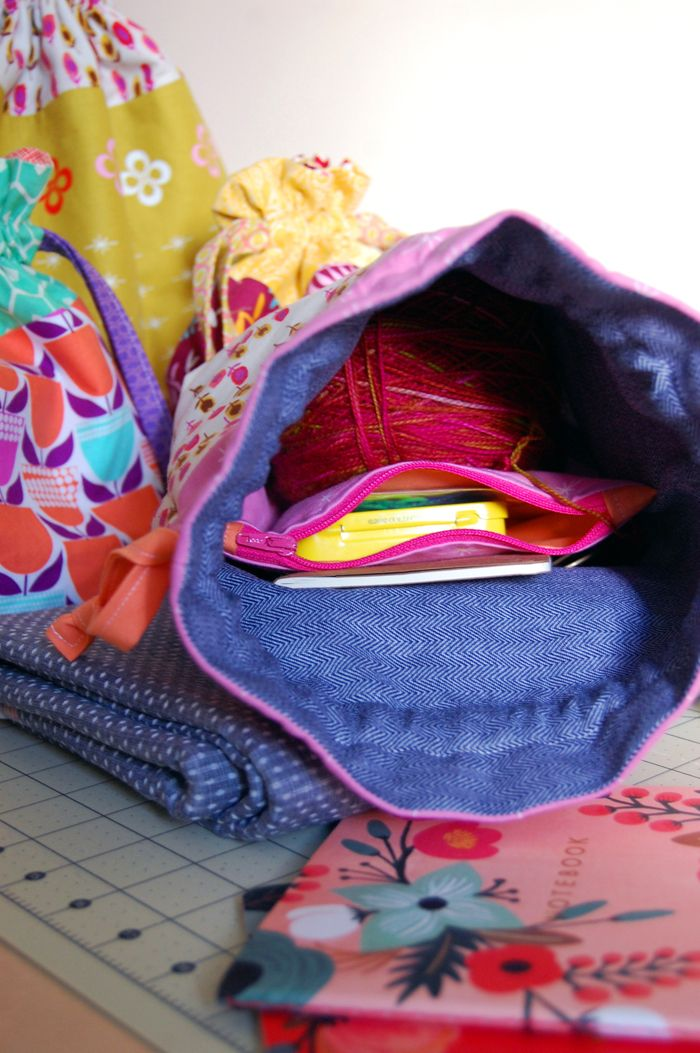 Zippered Knitting Project Bag Tutorial : Best colorwork ideas butterflies and bugs images on