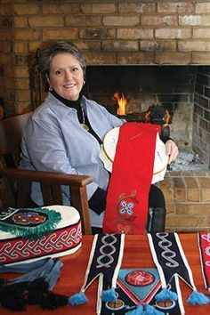 Artist Martha Berry was named a  Cherokee National Living Treasure.