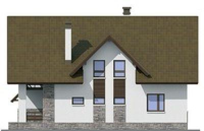 фасад дома проект 54-94