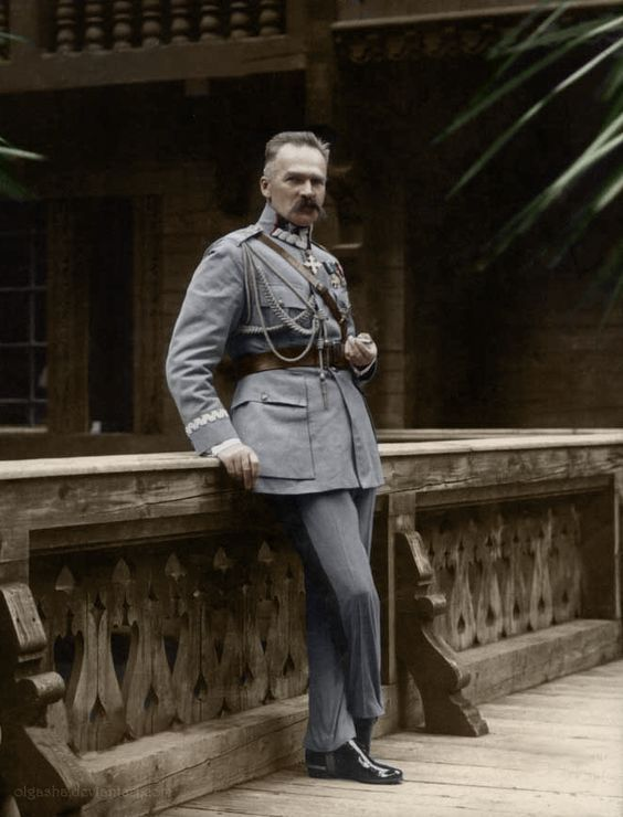 Polish marshal Jozef Pilsudski - winner of the war with Soviet Russia in 1920