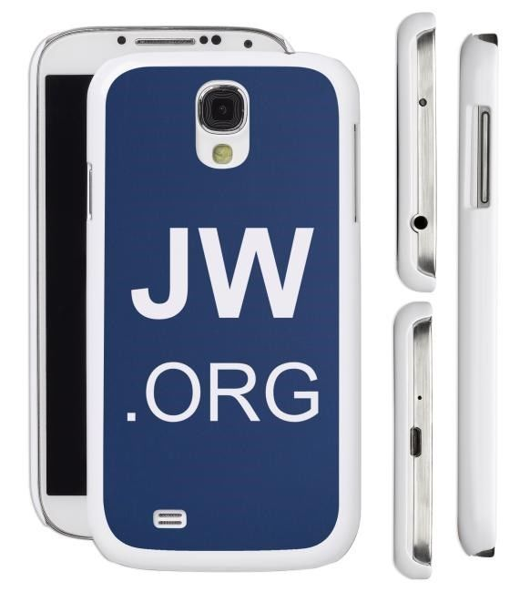 New JW.org Samsung Galaxy S4 S3 Cell Phone Case Cover Jehovah's Witnesses Gift