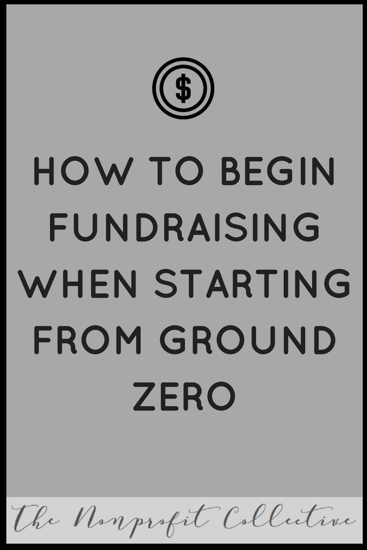 You've just formed a nonprofit and now you are in a bit of a rut. Where do you start fundraising? Today we are going to discuss how to begin fundraising.