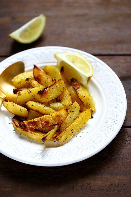 Pommes de terre rôties au citron