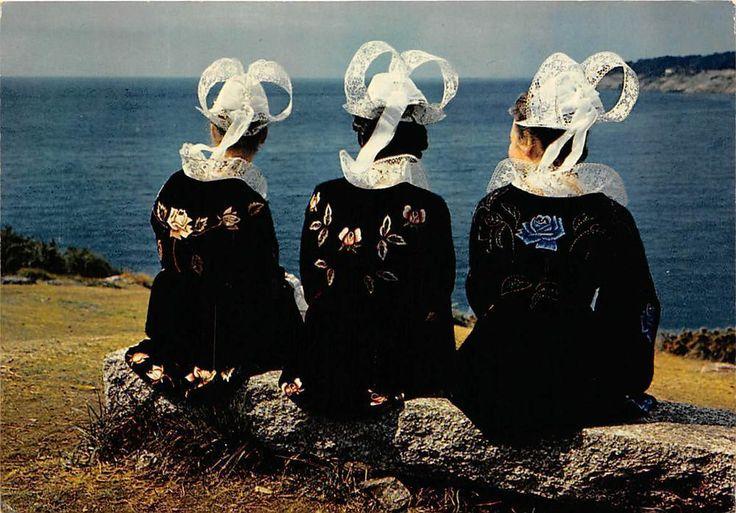 France Folklore Bretagne Groupe Korollerien-Moelan Gortoz Attente ladies