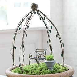 Fairy Garden Orchard Arbor By Moreland Creations   Lots Of Other Great  Pieces Available As Well