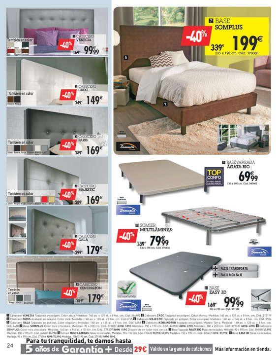 Conforama colchones baratos rebajas conforama camas with for Conforama rebajas 20 dormitorios