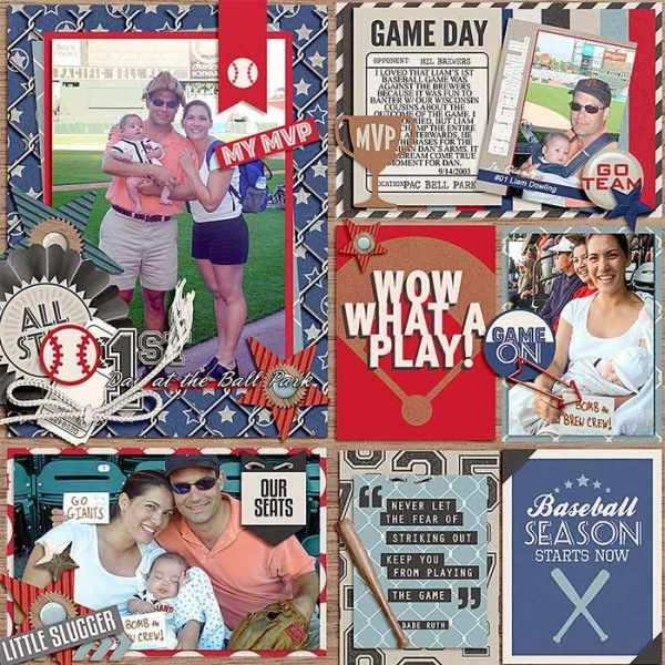 Play Ball Bundle from peppermintcreative.com | page by @lraewoo