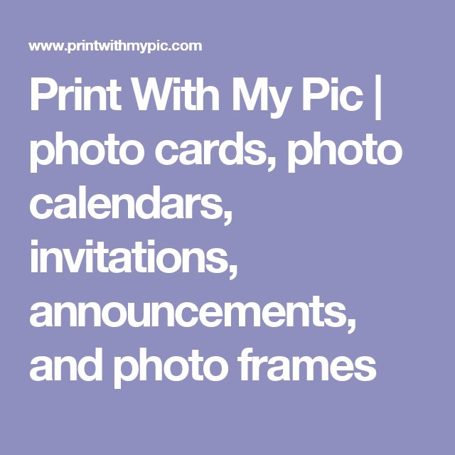 46 best event registration lab images on pinterest event print with my pic photo cards photo calendars invitations announcements and fandeluxe Images