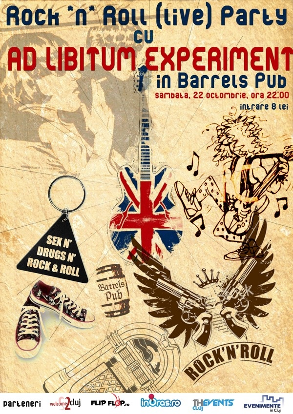 Band Poster - 2011 by Cornel Marian Hoza, via Behance