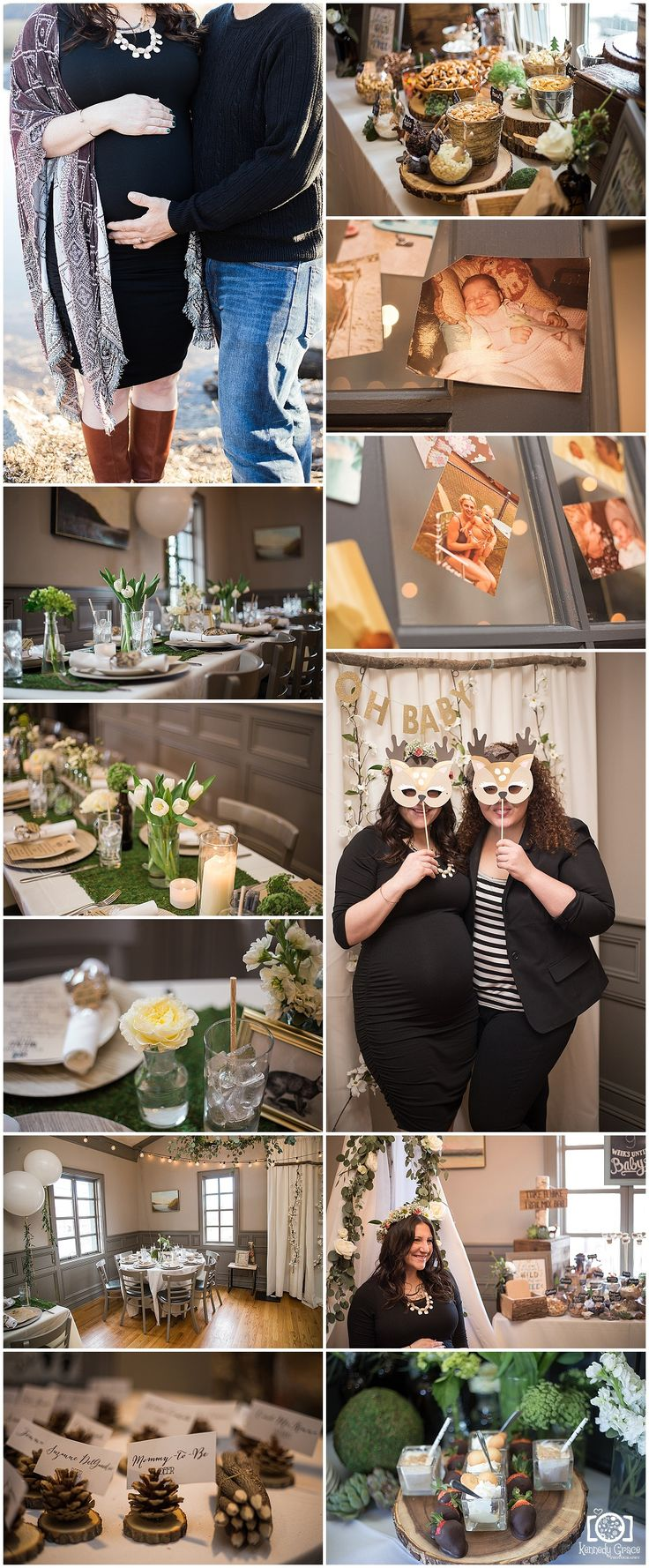 Kasi's Woodsy Baby Shower! — Kennedy Grace PhotographyRockland County NY
