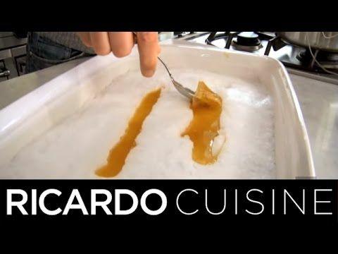 Faire de la Tire d'Érable Maison | Ricardo Cuisine - YouTube