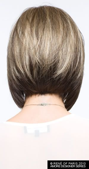 I like this angled bob & color of lightening. This could work for me CODI Wig Amore Designer - Bloomsbury Wigs