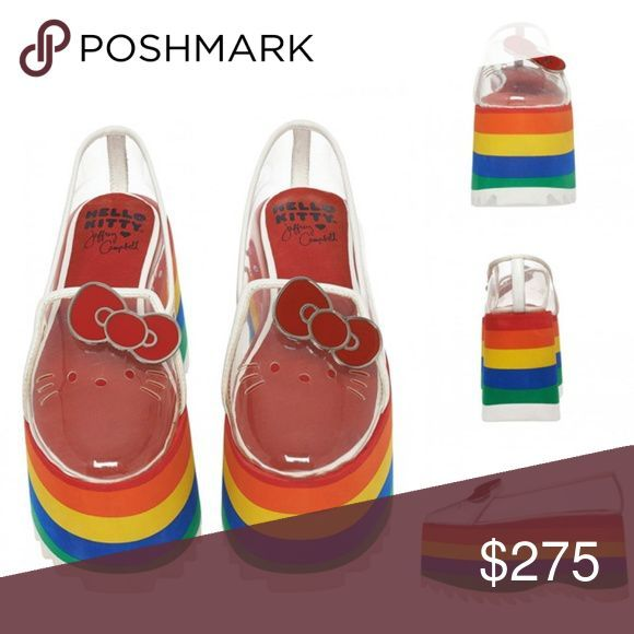 Hello kitty shoes, Rainbow shoes