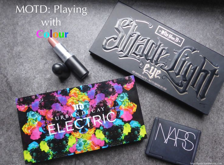 #MOTD : Playing with Colour with Urban Decay's Electric Palette