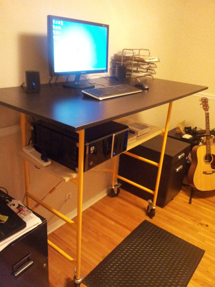 Diy Standing Desk Standing Desks Pinterest Diy