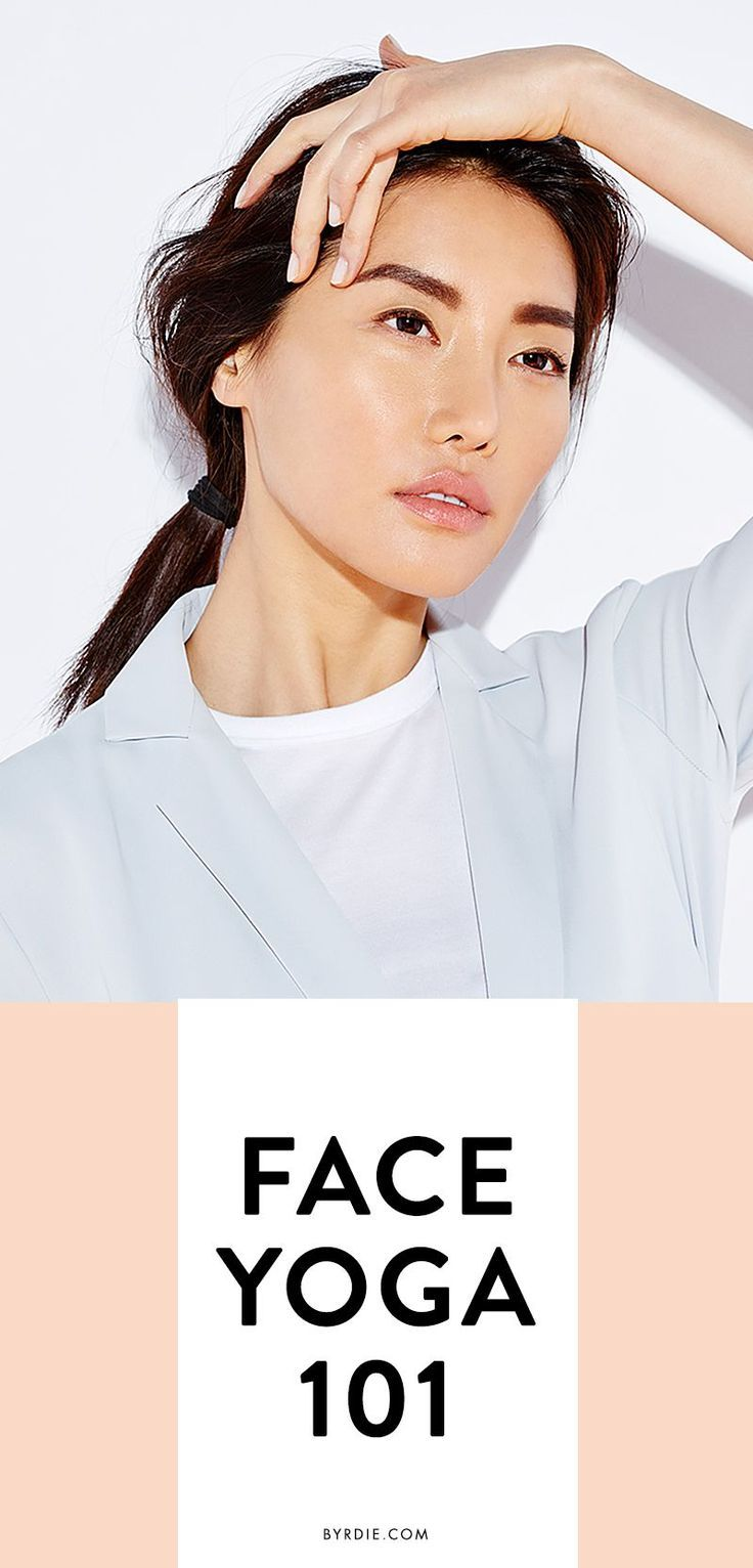 You do yoga to tighten up your body — why not try face yoga for firmer skin? These 4 antiaging facial exercises will have you looking younger in no time. // via @byrdiebeauty:
