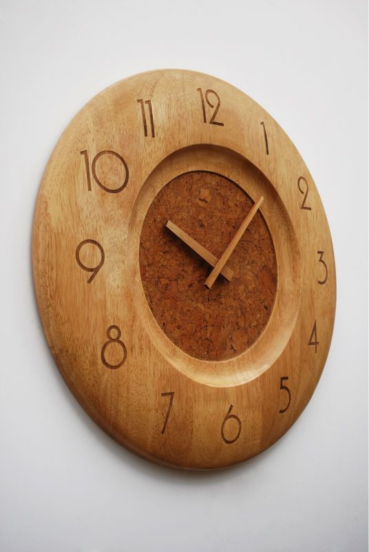 25 Best Wood Turning Clocks Images On Pinterest Wall