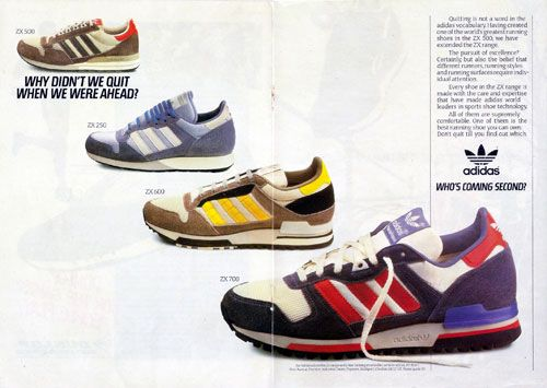 Adidas Retro Advertisment of