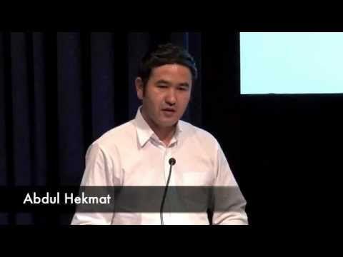 Hot Topics Live 2012 - Refugees - Abdul Hekmat