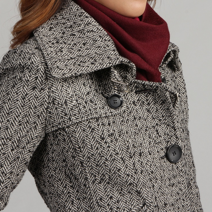 Herringbone coat women