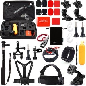 8.Top 10 Best Accessories Starter Kit for Gopro Reviews in 2016