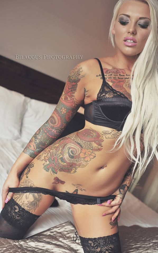 Sexy nude girls with tattoos and piercings remarkable, very
